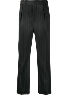 Yves Saint Laurent striped tailored trousers
