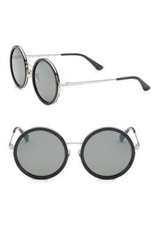 Yves Saint Laurent 136 Zero 52MM Round Sunglasses