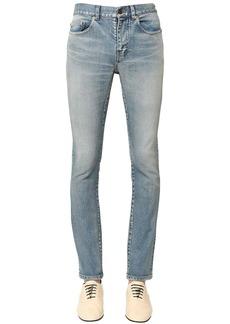 Yves Saint Laurent 15.5cm S.monica Skinny Cotton Denim Jean