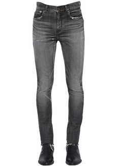 23ecb0428ae Yves Saint Laurent 15.5cm Ripped Cotton Denim Jeans | Jeans