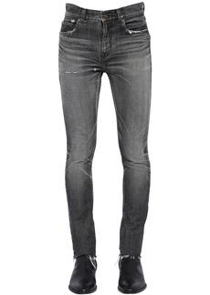 Yves Saint Laurent 15cm Low Rise Skinny Denim Jeans