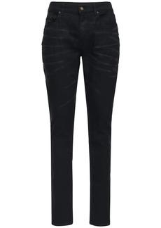 Yves Saint Laurent 16cm Skinny Stretch Cotton Denim Jeans