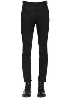 Yves Saint Laurent 16cm Straight Cotton Denim Jeans