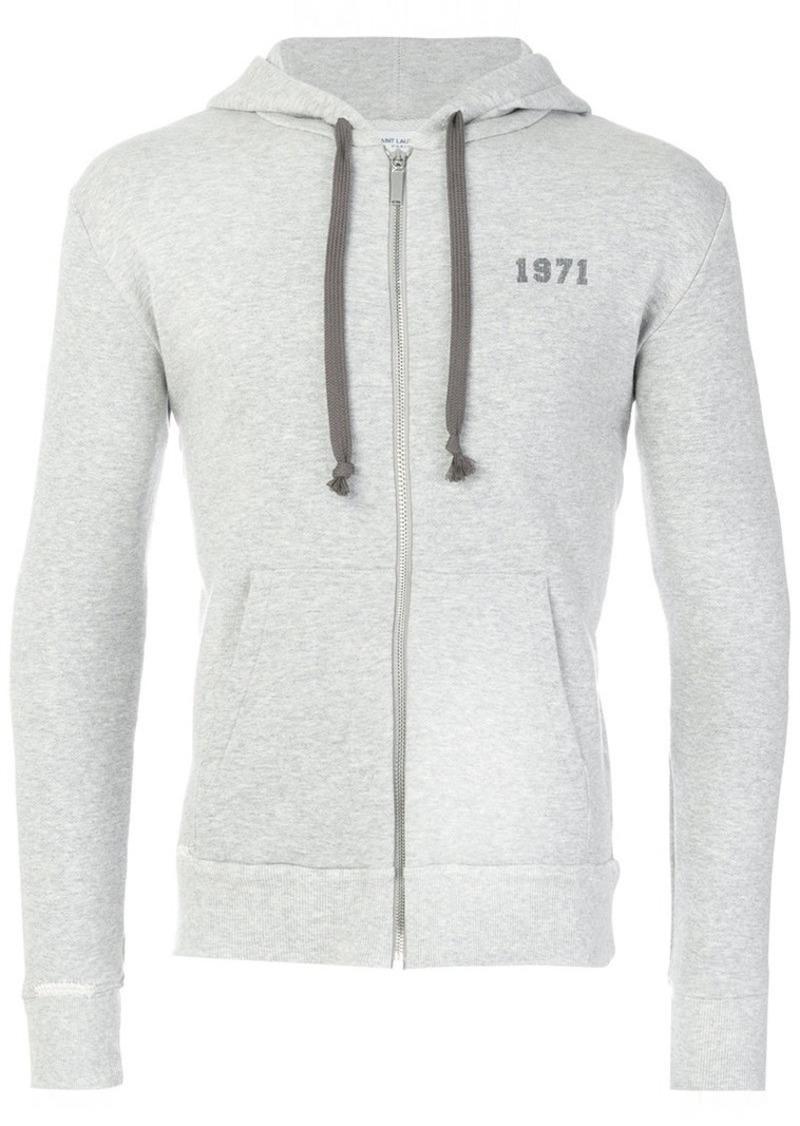 c4c5622fcb6 Yves Saint Laurent 1971 zip hoodie | Outerwear