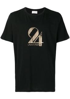 Yves Saint Laurent 24 Université T-shirt