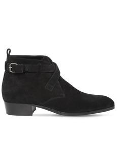 Yves Saint Laurent 30mm Wyatt Suede Boots