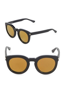 Yves Saint Laurent 47MM Oversized Sunglasses