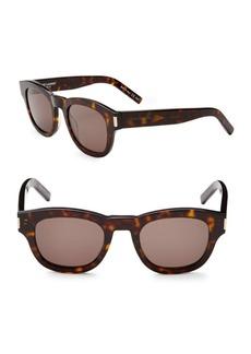 Yves Saint Laurent 49MM Oval Sunglasses
