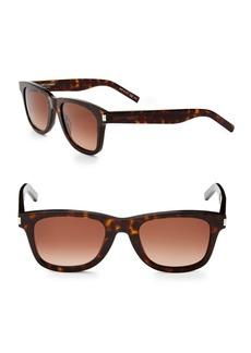Yves Saint Laurent 50MM Rectangle Sunglasses