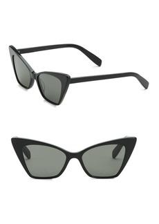 Yves Saint Laurent 51MM Cat-Eye Sunglasses