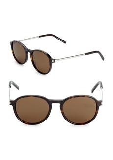 Yves Saint Laurent 51MM Rounded Sunglasses