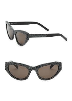 Yves Saint Laurent 54MM Cat Eye Sunglasses