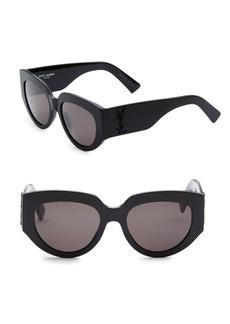 Yves Saint Laurent 54MM M26 Rope Sunglasses