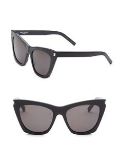Yves Saint Laurent 55MM New Wave 214 Kate Sunglasses