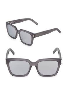 Yves Saint Laurent 55MM Square Sunglasses
