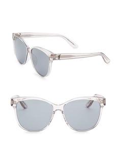 Yves Saint Laurent 58MM Clear Classic 28 Sunglasses