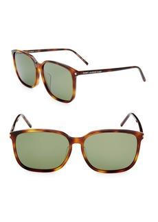 Yves Saint Laurent 59MM Rectangle Sunglasses