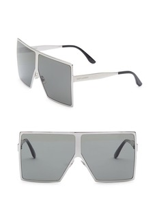 Yves Saint Laurent 68MM New Wave 182 Betty Sunglasses