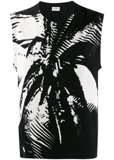 Yves Saint Laurent abstract print vest