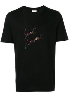 Yves Saint Laurent animal-print T-shirt