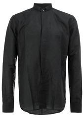 Yves Saint Laurent band collar shirt
