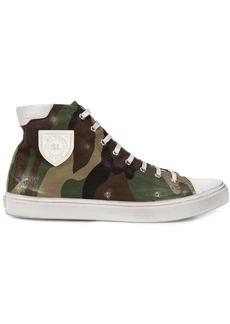Yves Saint Laurent Bedford camouflage sneakers