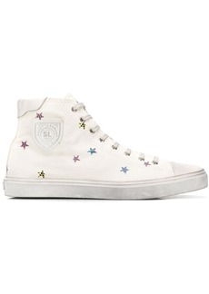 Yves Saint Laurent Bedford star-print sneakers