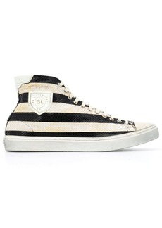 Yves Saint Laurent Bedford striped sneakers