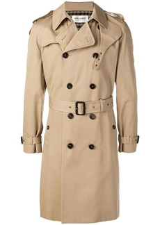 Yves Saint Laurent belted trench coat