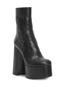 Yves Saint Laurent Billy Platform Leather Boot