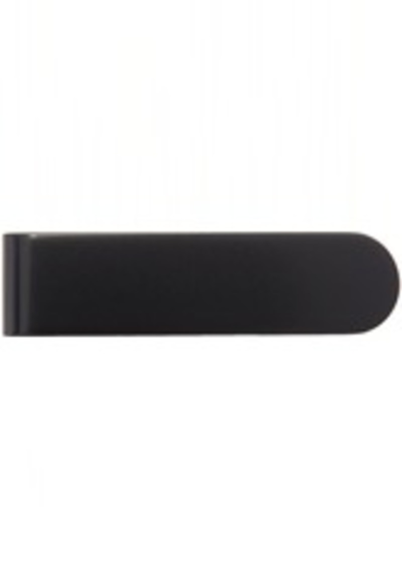 Yves Saint Laurent Black Matte ID Money Clip