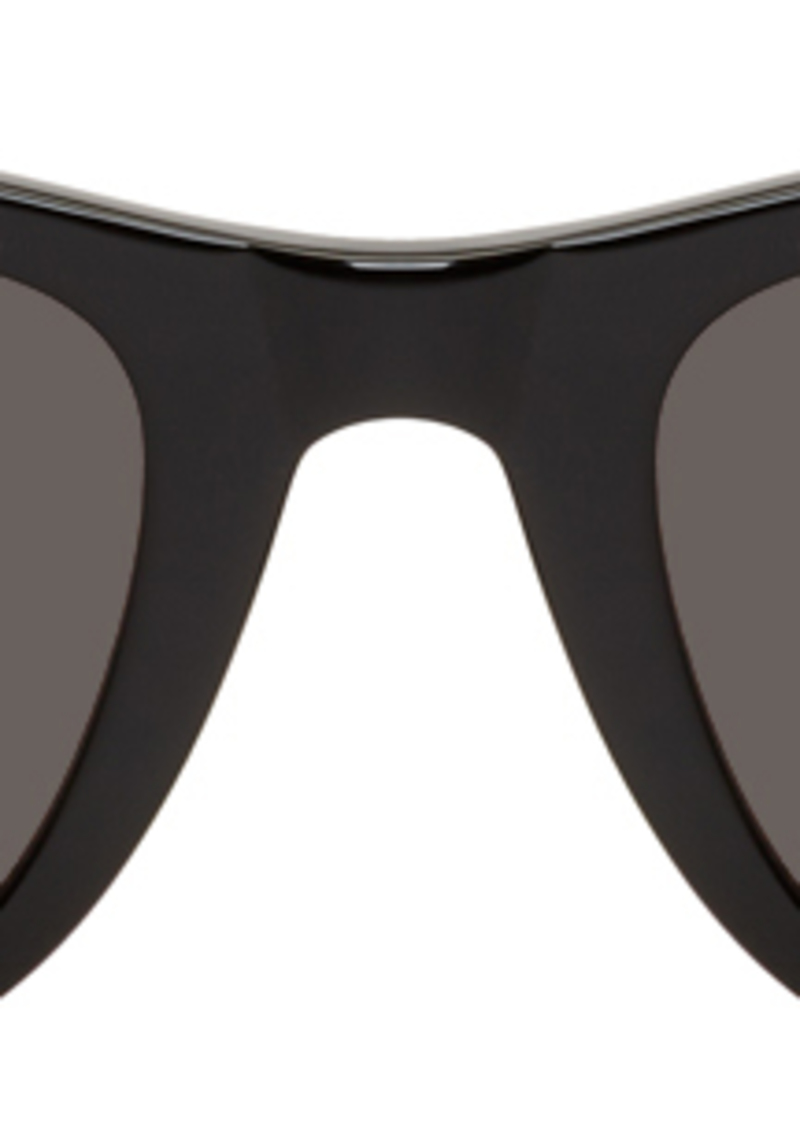Yves Saint Laurent Black SL 304 Slim Sunglasses