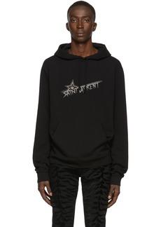 Yves Saint Laurent Black Star Print Hoodie