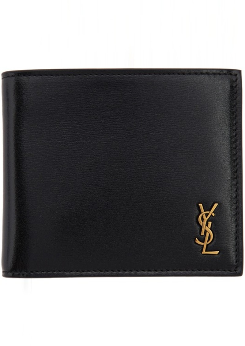 Yves Saint Laurent Black Tiny Monogramme East/West Wallet