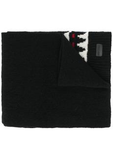 Yves Saint Laurent boho print winter scarf