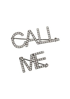 Yves Saint Laurent Call Me embellished brooch set