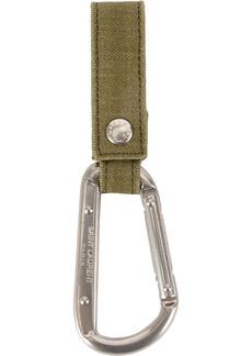 Yves Saint Laurent carabiner key ring