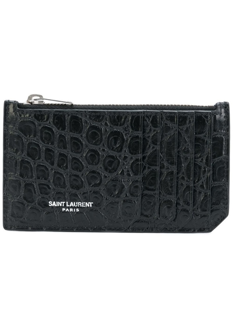 Yves Saint Laurent card holder