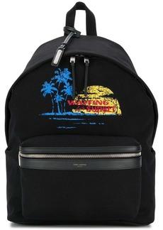 Yves Saint Laurent City Waiting For Sunset backpack