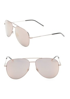 Yves Saint Laurent Classic 59MM Aviator Sunglasses