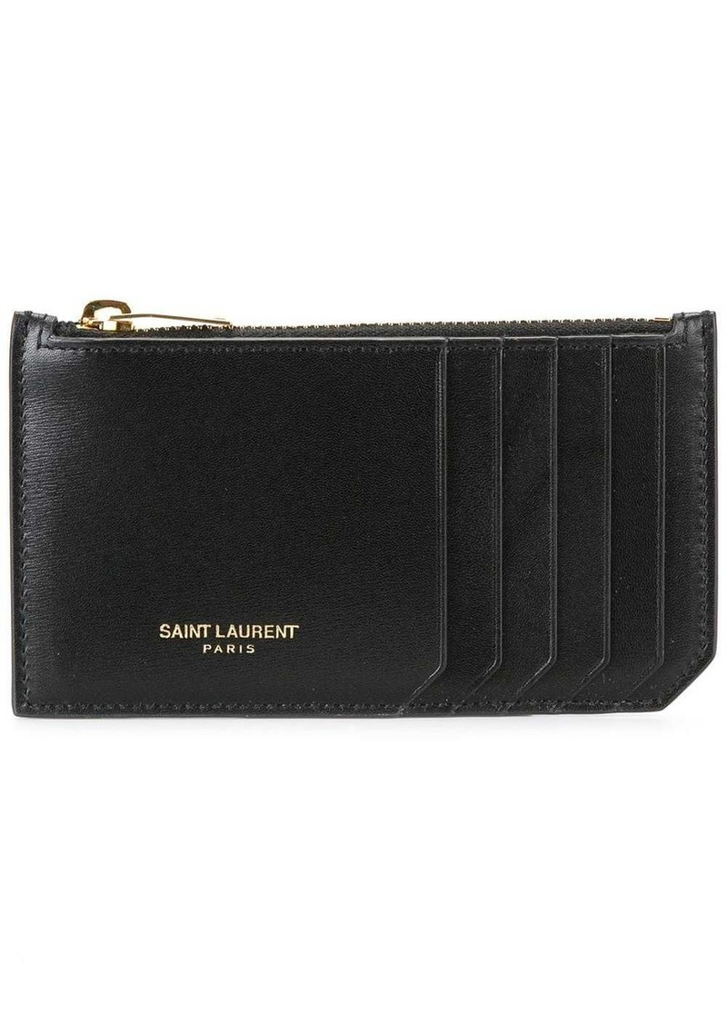 Yves Saint Laurent Classic Fragments zip pouch