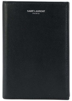 Yves Saint Laurent Classic Paris passport wallet