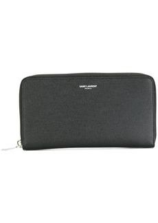 Yves Saint Laurent classic zip around wallet