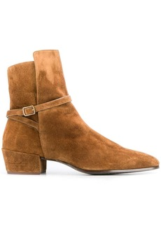 Yves Saint Laurent Clementi suede boots