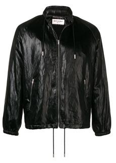 Yves Saint Laurent concealed hood jacket