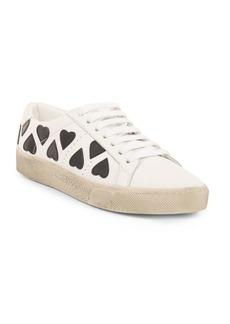 Saint Laurent Court Classic Heart Sneakers