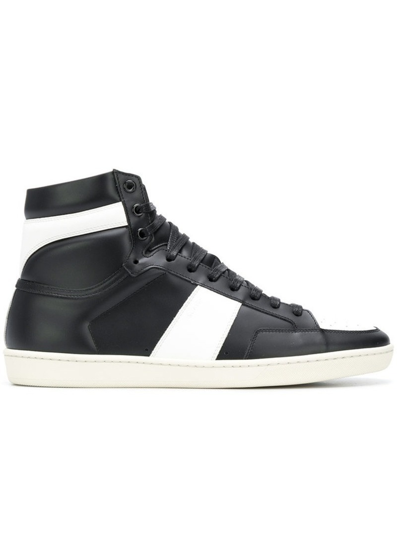 b7db7b43aad9 Yves Saint Laurent Court Classic hi-top sneakers