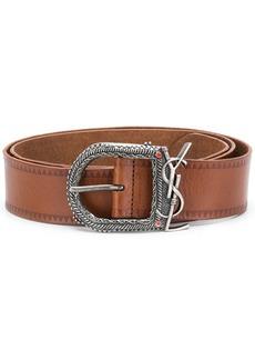 Yves Saint Laurent embossed belt