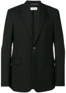 Yves Saint Laurent fitted single breasted blazer