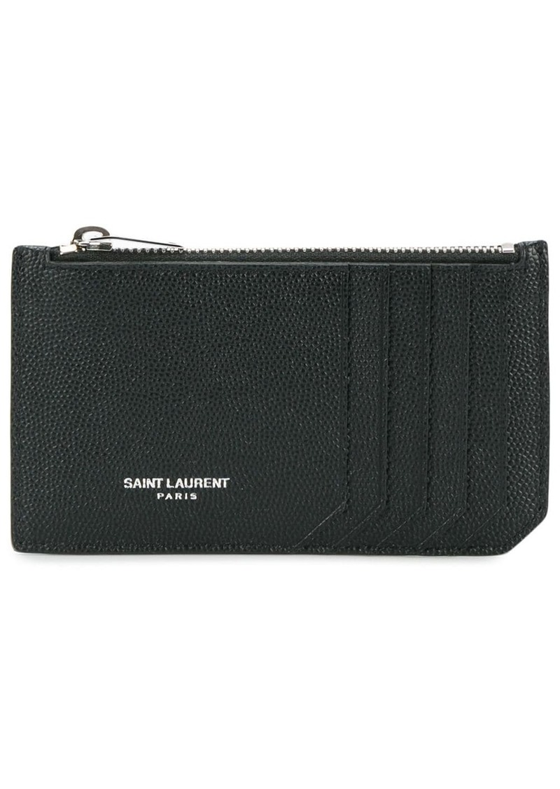 Yves Saint Laurent Fragments cardholder